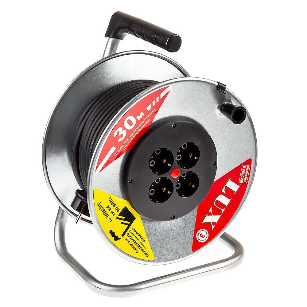 Удлинитель Lux 44130 К4-Е-30 КГ удлинитель lux ус1 е 30 у 161 30030