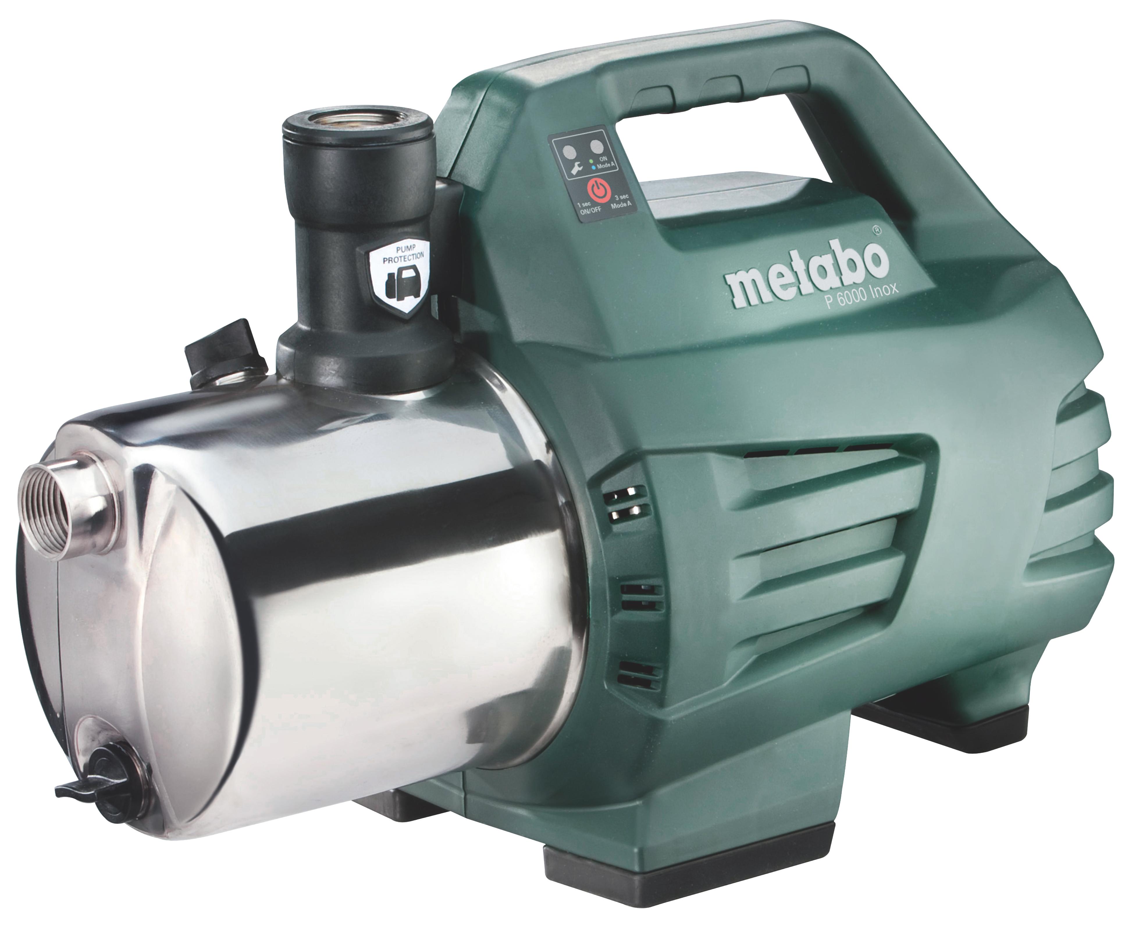 Садовый насос Metabo P6000inox (600966000) минитракторы в москве кубота 6000