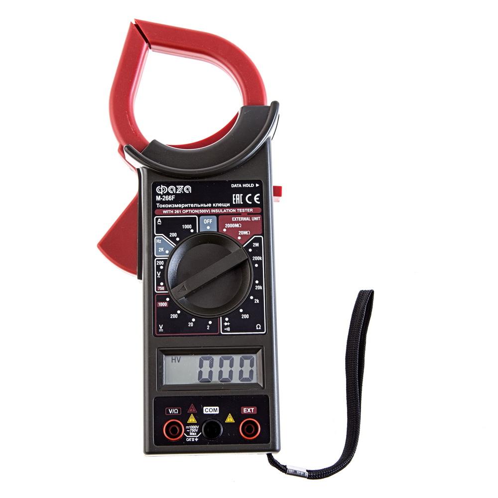 токовые клещи mastech m266c видео инструкция