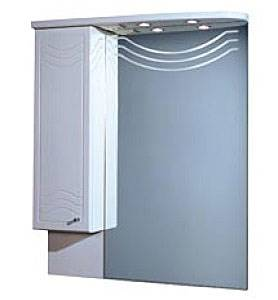Зеркальный шкаф АКВАТОН 82-2(lev) акватон шкаф для ванной акватон симпл двухстворчатый