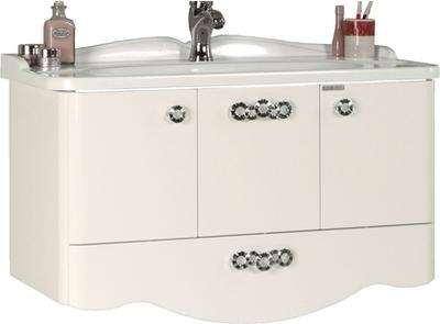 Тумба АКВАТОН 1556-1 акватон мебель для ванной акватон венеция 75 черная