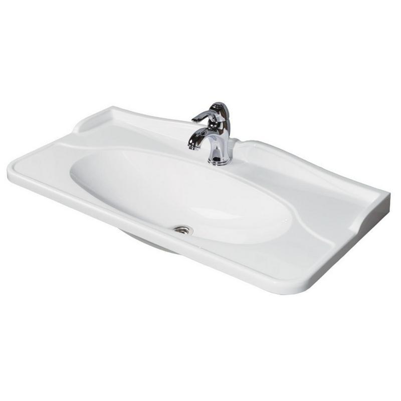 Раковина для ванной АКВАТОН 71-r.01.01 акватон мебель для ванной акватон венеция 75 черная