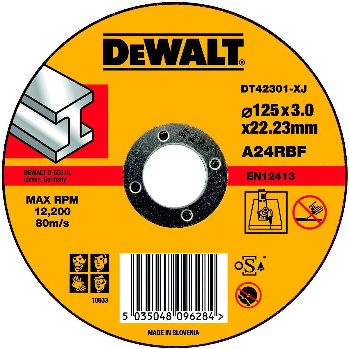 Круг отрезной Dewalt Dt42301xj oodji 59807019 1 42301 7910d