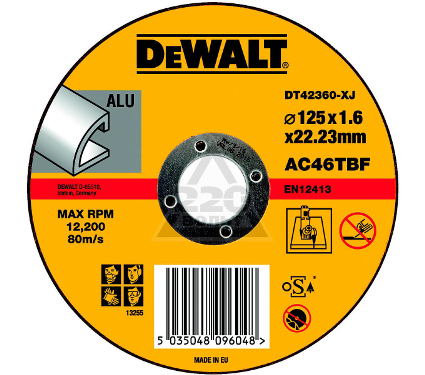 Круг отрезной DEWALT DT42360XJ