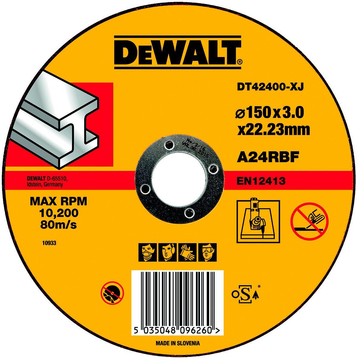Круг отрезной Dewalt 150х3х22 dt42400xj душевой трап pestan square 3 150 мм 13000007