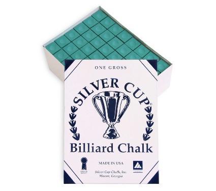 Мел SILVER CUP Green 144шт.