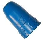 Колпак для баллона КОРД 40л металл син.