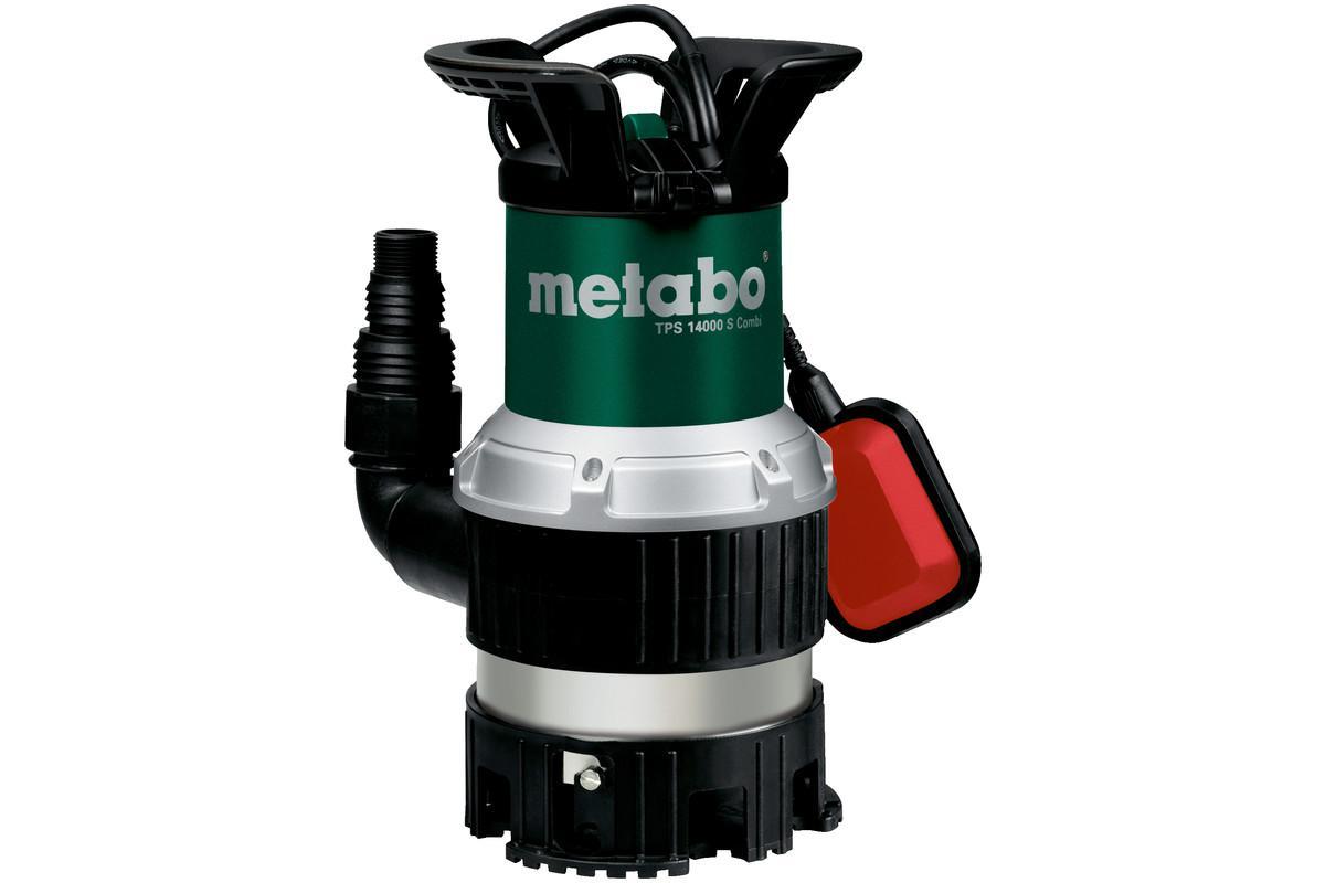 Дренажный насос Metabo Tps 14000 s combi (251400000) дождевики combi для моделей колясок f2 f2 plus