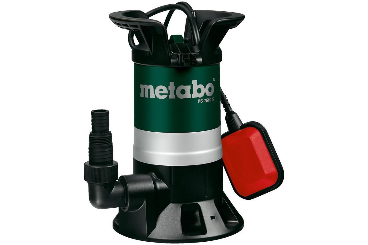 Дренажный насос Metabo Ps 7500 s (250750000) насос metabo tdp 7501 s 1000вт 0250750100