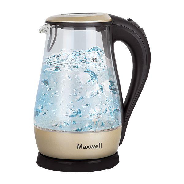 Чайник Maxwell Mw-1041(gd) maxwell mw 2015m gd фен выпрямитель для волос