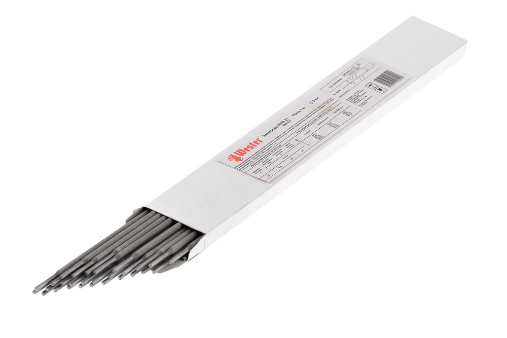 Электроды для сварки Wester АНО-21, 3.0мм, 1кг электроды для сварки wester ано 4 3 0мм 1кг