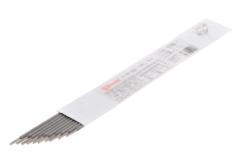 Электроды для сварки Wester ОЗЛ-8, 3.0мм, 10шт. электроды для сварки wester ано 4 3 0мм 1кг