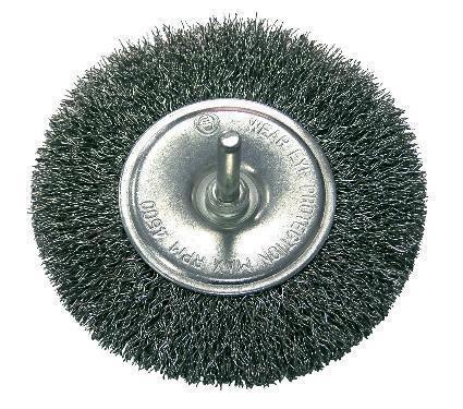 Кордщетка PROLINE плоская 80мм для дрели гофрированная сталь (32428:P)