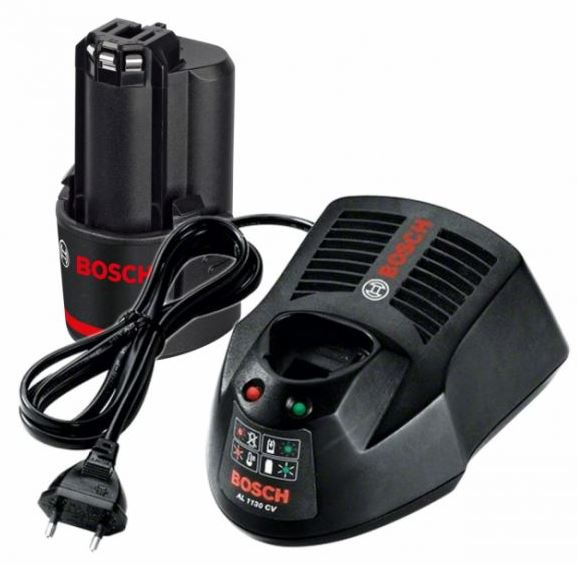 Аккумулятор и ЗУ Bosch 12В 2Ач li-ion gba (1600z00041)