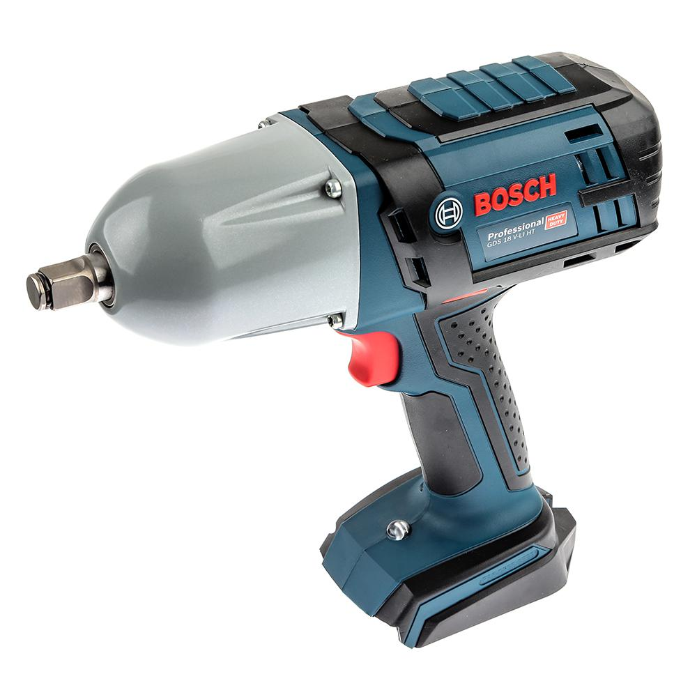 Гайковерт аккумуляторный Bosch Gds 18 v-li ht БЕЗ АКК.и ЗУ. (0.601.9b1.300) tripcraft 4 6inch 40w led work light bar spot flood combo beam for offroad boat truck 4x4 atv uaz 4wd car fog lamp 12v 24v ramp