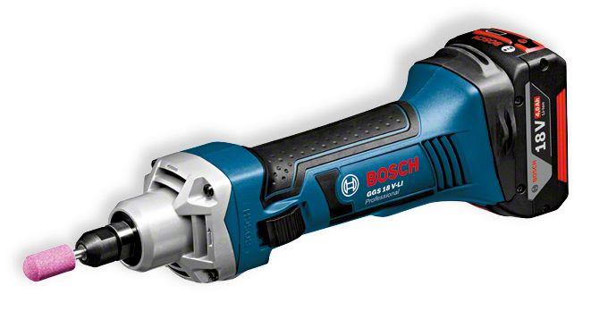 Машинка шлифовальная прямая Bosch Ggs 18 v-li l-boxx (0.601.9b5.303) радиоприемник bosch gml 14 4 18 v sound boxx 0 601 429 900