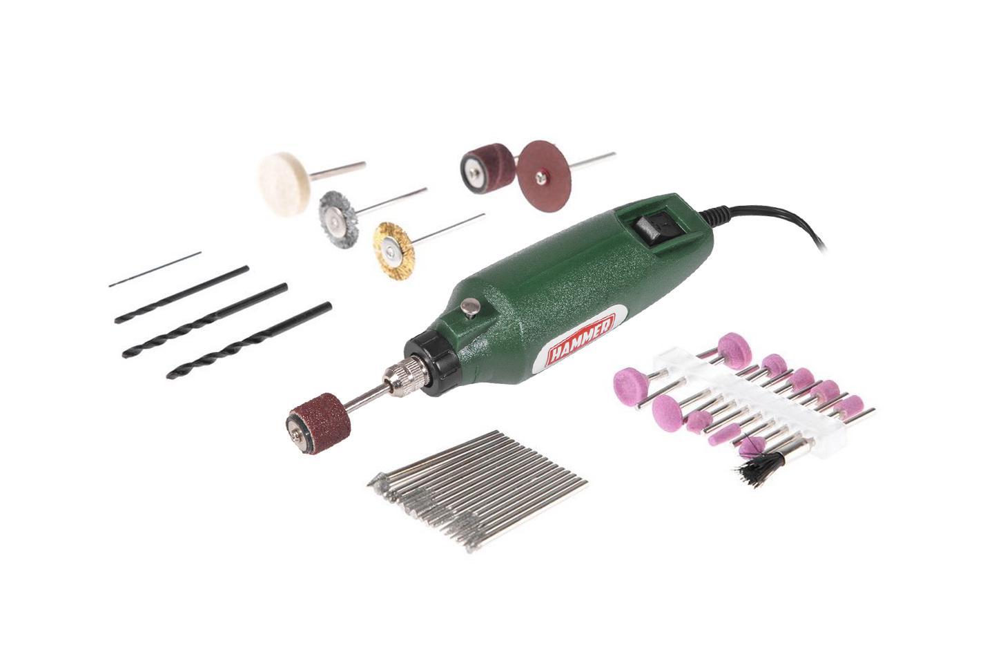 Мини-дрель Hammer Md050b гравер электрический hammer md050b