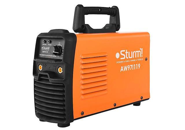 Сварочный аппарат Sturm! Aw97i119 сварочный инвертор sturm aw97i119