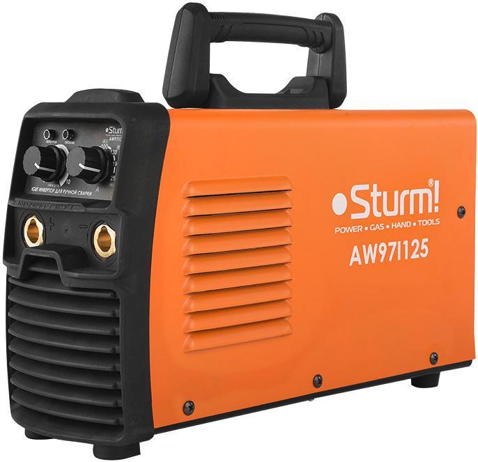 Сварочный аппарат Sturm! Aw97i125 сварочный инвертор sturm aw97i119