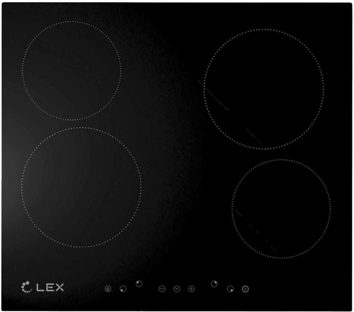 Панель варочная Lex Evh 640 bl цены