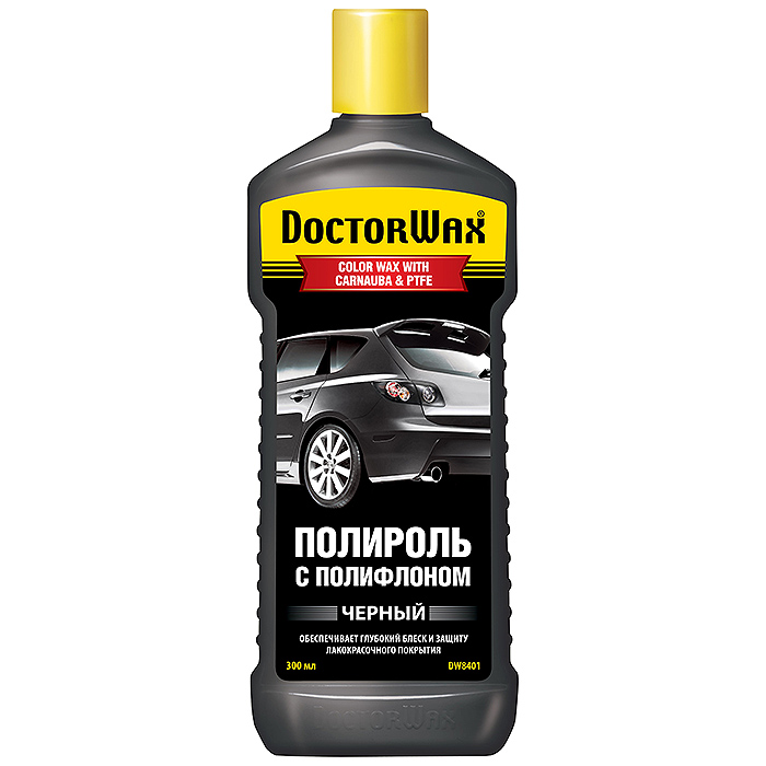 Полироль Doctor wax Dw8401