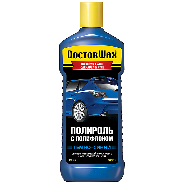 Полироль Doctor wax Dw8433