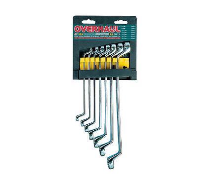 Набор гаечных ключей OVERHAUL OH4114 (6 - 19 мм)
