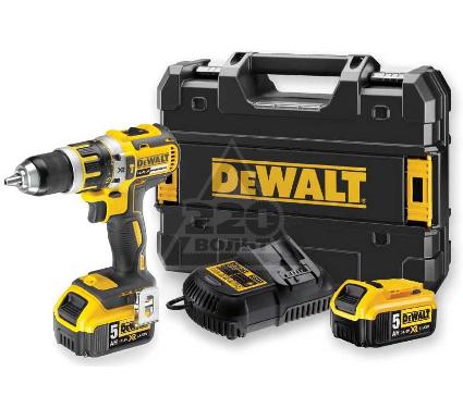 Купить Дрель аккумуляторная DEWALT DCD737P2, аккумуляторные дрели, шуруповерты