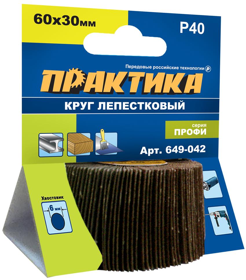 Круг Лепестковый Торцевой (КЛТ) ПРАКТИКА 649-042