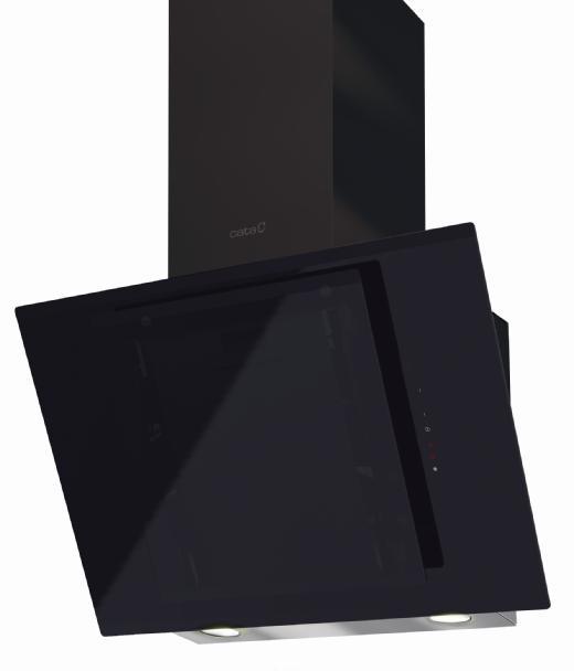 Вытяжка Cata Ceres 600 b abk вытяжка сata podium 600 abk 60см 740куб черн стекло