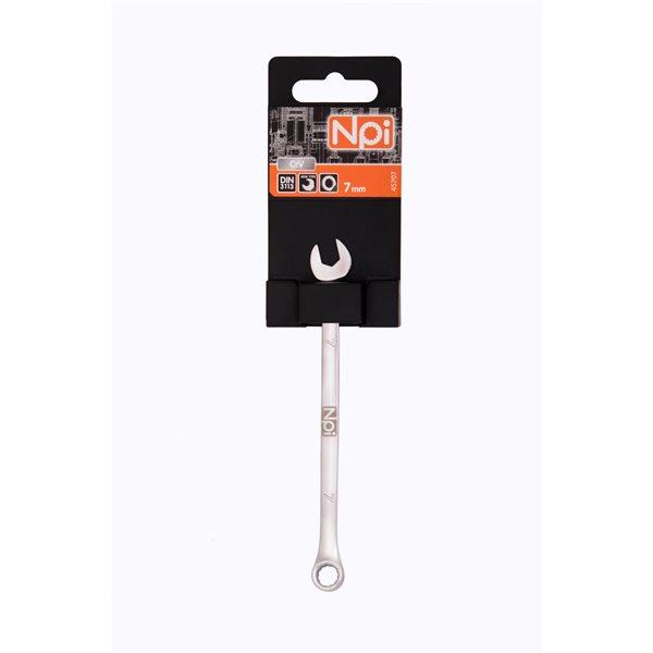 Ключ гаечный комбинированный Npi 45707 (7 мм) ключ гаечный комбинированный npi 45722 22 мм