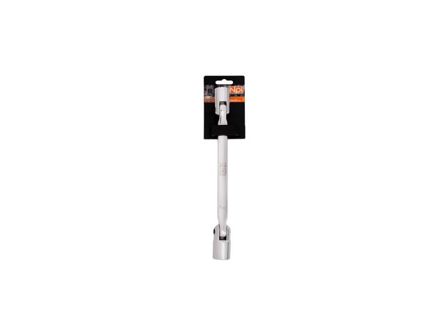 Ключ торцевой шарнирный Npi 45134 торцевой прямой шарнирный ключ 12х13мм 220мм jtc 3936