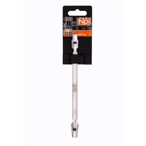 Ключ торцевой шарнирный Npi 45121 торцевой прямой шарнирный ключ 12х13мм 220мм jtc 3936