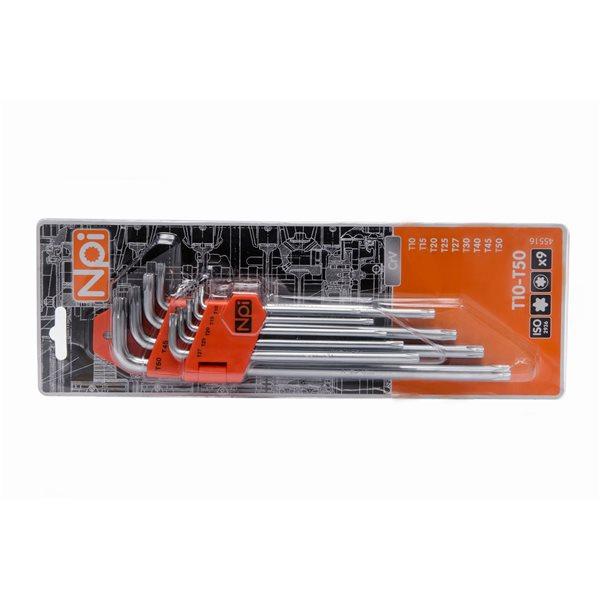 Набор шестигранных ключей Npi 45516