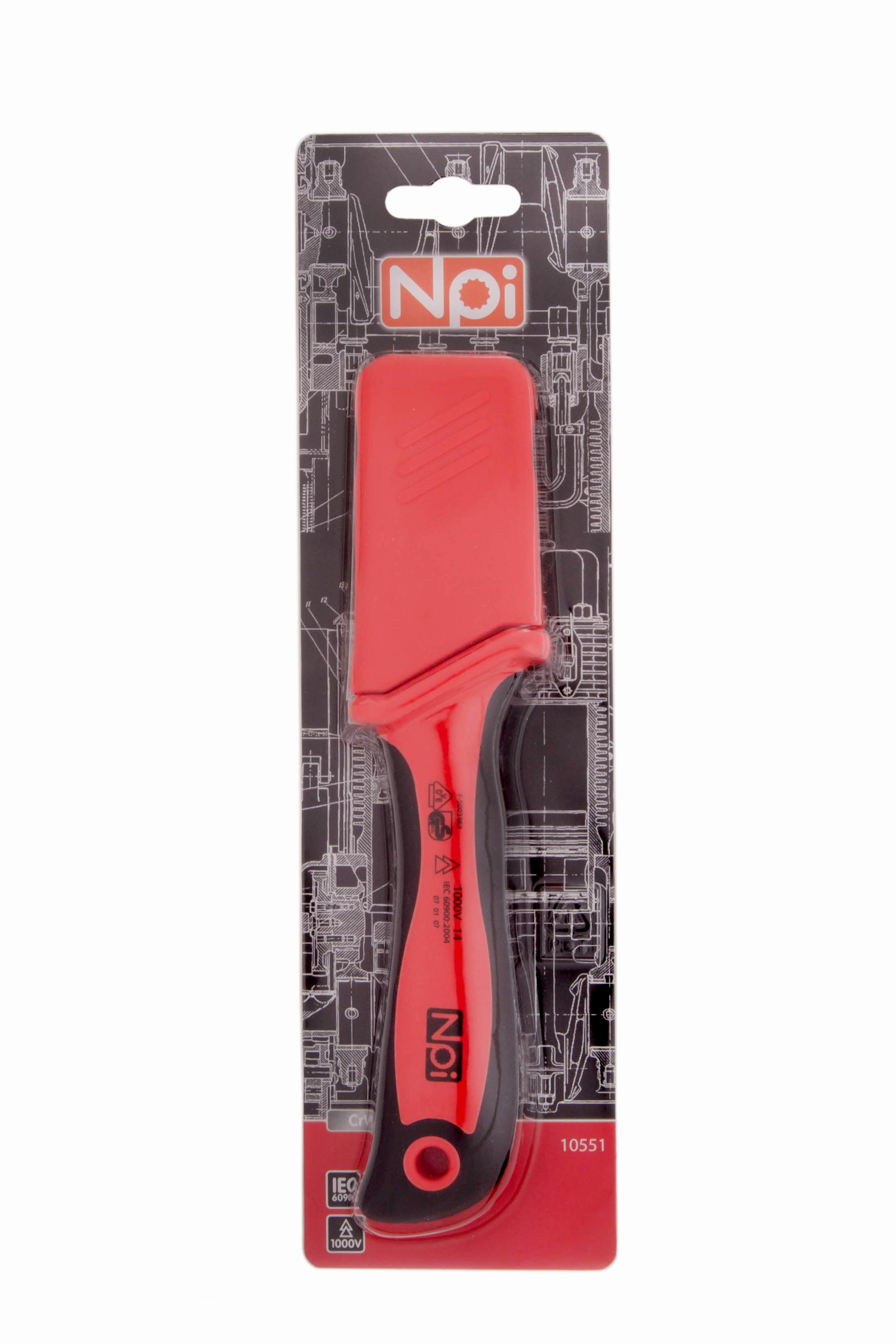 Нож строительный Npi 10551