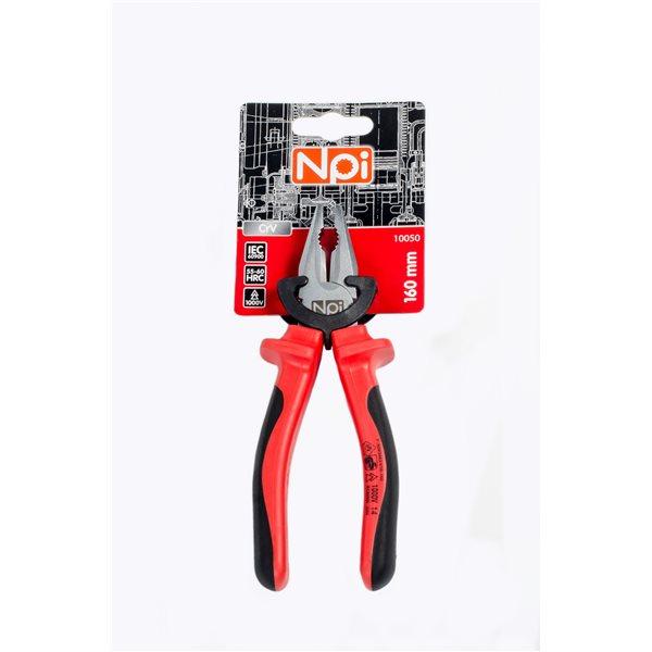 Плоскогубцы Npi 10050 плоскогубцы диэлектрические truper t200 8x 12350