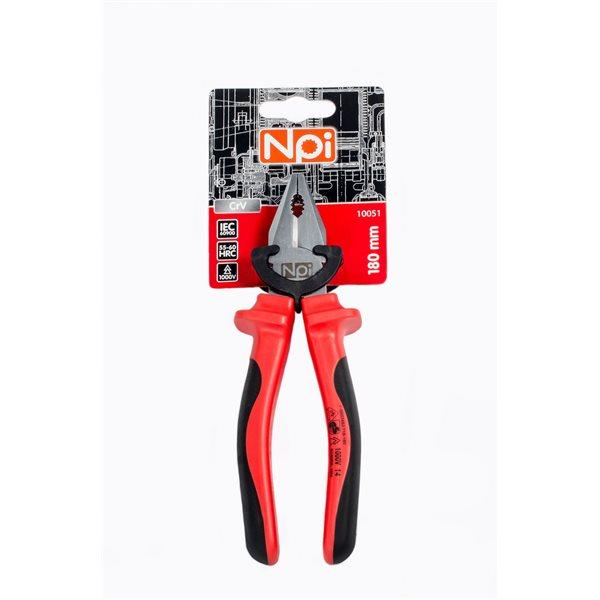 Плоскогубцы Npi 10051 плоскогубцы диэлектрические truper t200 8x 12350