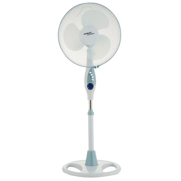 Вентилятор Scarlett Sc-379 белый вентилятор scarlett sc sf111rc06
