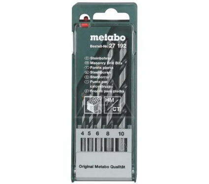 Набор сверл METABO 627192000