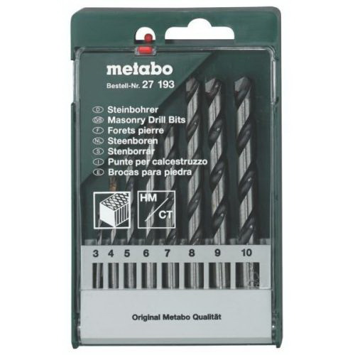 Набор сверл Metabo 627193000 набор инструментов metabo 630452000