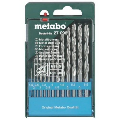 Набор сверл Metabo 627096000 набор инструментов metabo 630452000