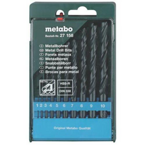 Набор сверл Metabo 627158000 набор инструментов metabo 630452000