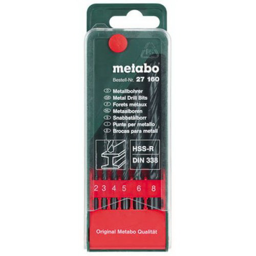 Набор сверл Metabo 627160000 набор инструментов metabo 630452000