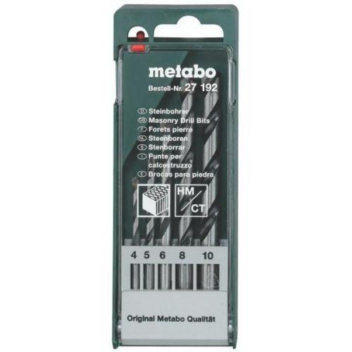 Набор сверл Metabo 627181000 набор бит metabo 626701000 26 предм