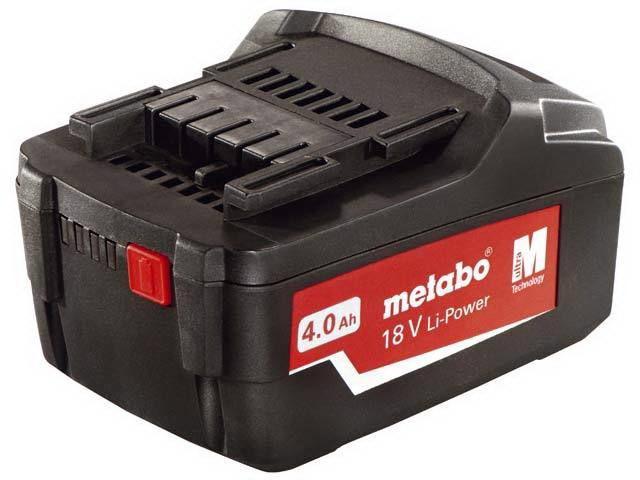 Аккумулятор Metabo 18В 4Ач li-ion (625591000)