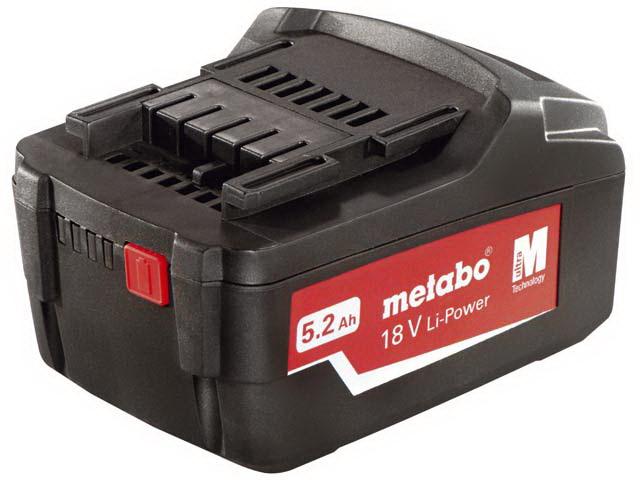 Аккумулятор Metabo 18В 5Ач li-ion (625592000)