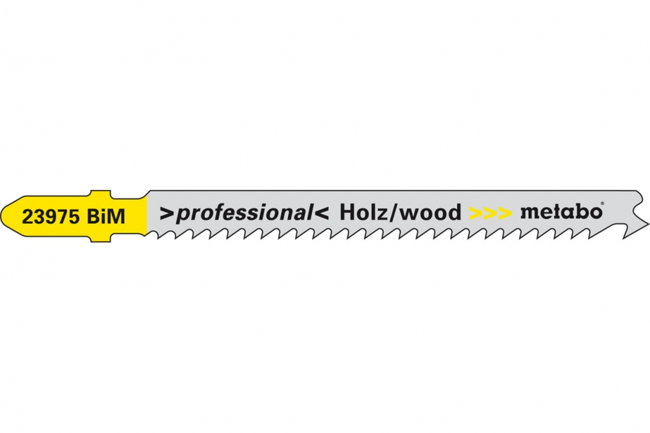 Пилки для лобзика Metabo 623975000 пилки для лобзика по металлу для прямых пропилов bosch t118a 1 3 мм 5 шт
