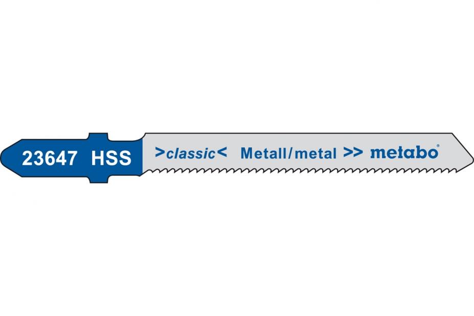 Пилки для лобзика Metabo 623647000 пилки для лобзика по дереву набор 5 шт стандарт