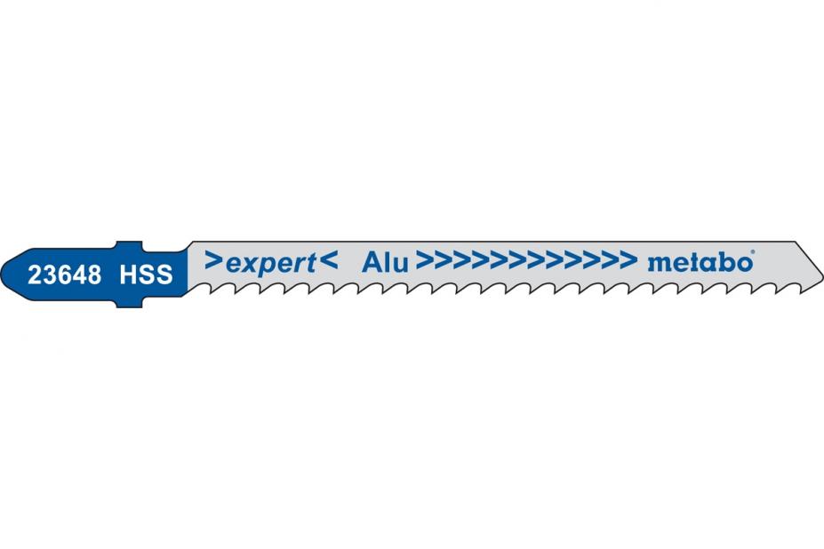 Пилки для лобзика Metabo 623648000 пилки для лобзика по металлу для прямых пропилов bosch t118a 1 3 мм 5 шт