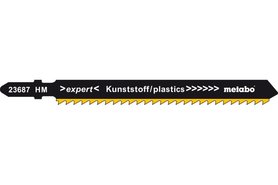 Пилки для лобзика Metabo 623687000 пилки для лобзика по металлу для прямых пропилов bosch t118a 1 3 мм 5 шт